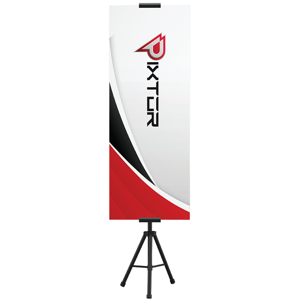 Tripod bunting banner stand